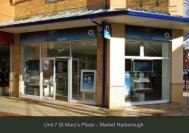 Unit 7 St Mary's Place – Market Harborough - Space Retail Property ...
