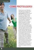 Gli insetti PUNTURE DI INSETTI Come proteggersi - Farmacie ... - Page 4