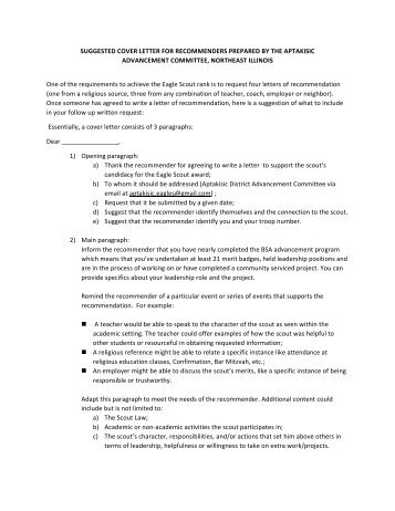 Eagle Scout Reference Letter Example.Sample Religious Recommendation Letter For Eagle Scout