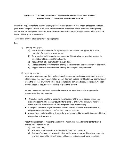Leadership Letter Of Recommendation from img.yumpu.com