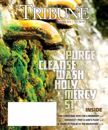 The Christian and Citizenship - Baptist Bible Tribune