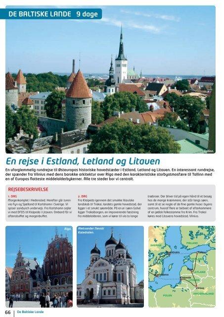 En rejse i Estland, Letland og Litauen - NILLES REJSER A/S