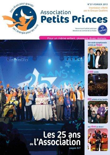 Les 25 ans de l'Association - L'Association Petits Princes