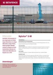Nylofor® 3-M - Zaunsysteme