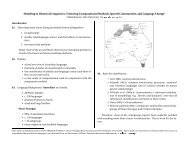 Modeling in Historical Linguistics: Trisecting Computational Methods ...