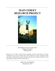 main street research project - Academic Technology Center ...