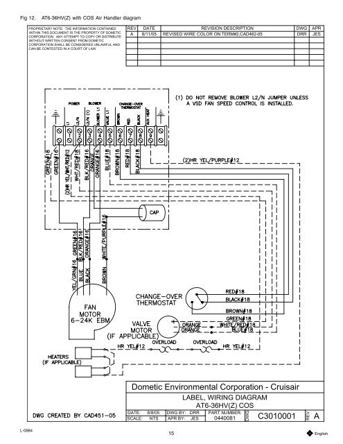 Fig. 11 AT-COS Ai Marine Air Conditioner Wiring Diagram on rooftop hvac unit diagrams, air switch wiring diagram, ceiling fans diagrams, basic hvac ladder diagrams, air conditioner schematics, air conditioner test equipment, air compressor wiring diagram, air conditioner wiring connection, air conditioner relay diagram, air conditioner electrical, air conditioner wires, air conditioning, air conditioner air flow diagram, air conditioner contactor diagram, air handler wiring diagram, air conditioner wiring requirements, hvac systems diagrams, air conditioner not cooling, air conditioner compressor, hdmi tv cable connections diagrams,