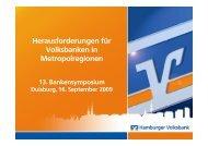 """""""Ländliche"""" Gebiete - Hamburger Volksbank"""