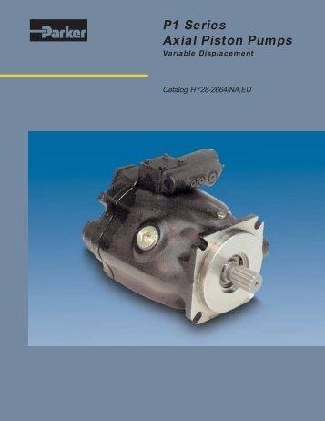 P1 Series Axial  Piston Pumps - Die Hypneu Gruppe