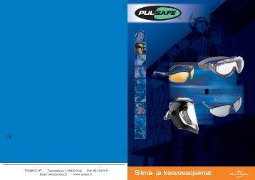 Silmä- ja kasvosuojaimet (PDF, 1,87Mt) - Temrex Oy