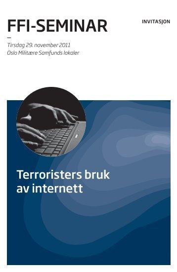 FFI-SEMINAR - Forsvarets forskningsinstitutt