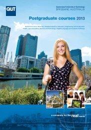 Postgraduate Prospectus 2013 - Oceanic Consultants