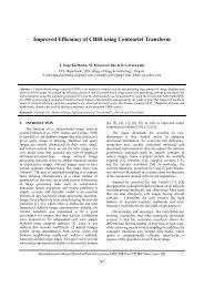 Improved Efficiancy of CBIR using Contourlet Transform - IRD India