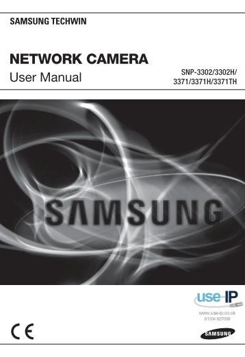 Samsung SNP-3371TH User Manual - Use-IP