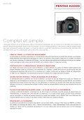 SIMPLE ET CRÉATIF. - Pentax Europe - Page 3