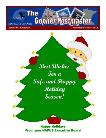 Best Wishes For a Safe and Happy Holiday Season! - Minnesota ...