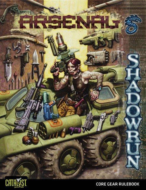Shadowrun, Arsenal - Index of - Free