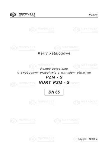 (NURT) PZM - S / DN65 - MEPROZET Sp. z oo