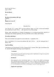 Den 29. juni 2011 blev i sag nr. 4/2010 ... - Revisornævnet