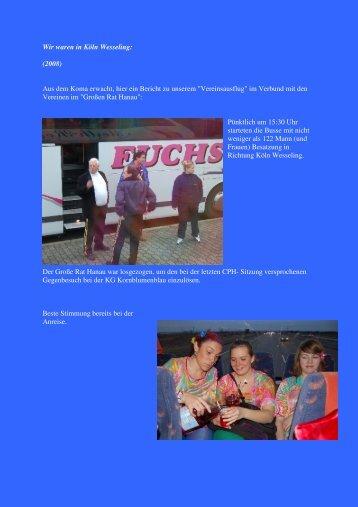 Bericht pdf - 1. Hanauer Tanzgarde 1986 eV
