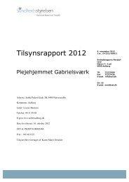 Gabrielsværk, plejeboliger - Aalborg Kommune