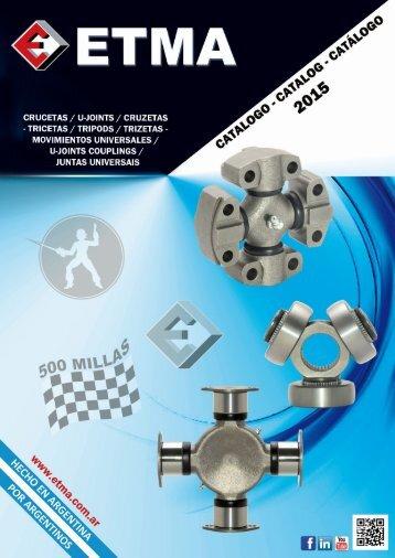 Catalogo ETMA 2015