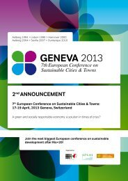 2nd ANNOUNCEMENT 7th European Conference on Sustainable ...