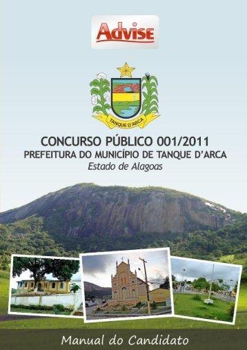 Edital 001/2011 - Advise