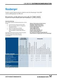 datenbuskommunikation - Grundfos