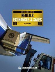 RENTALS EXCHANGES & SALES