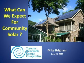 What Can We Expect For Community Solar