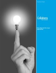 Extending the life of your applications Position Paper - Collabera