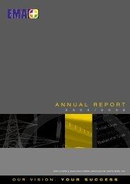 EMA Annual Report 2005/2006