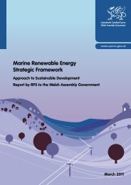 Approach to Sustainable Development March 2011 - Marine ...