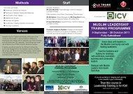 muslim leadership training programme - Crescents of Brisbane