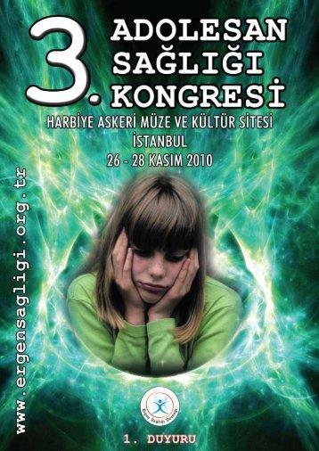 """Page 1 ...wir _. -r u 1.- ADOLE s» SAGLIG'ÉE """"""""'KONGRE 's M _E nw ..."""