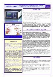 EURO - QUANT - HAAG Elektronische Messgeräte GmbH