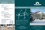 Weihnachts- und silvesterangebote 2011/2012 ... - Moritz Klinik