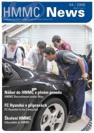 (ke stažení v pdf) číslo 2/Duben 2008 - HYUNDAI Motor ...