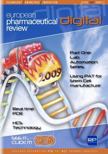 Issue 1/2009 - European Pharmaceutical Review