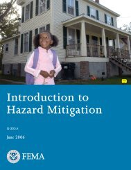 Introduction to Hazard Mitigation - American Council for Accredited ...