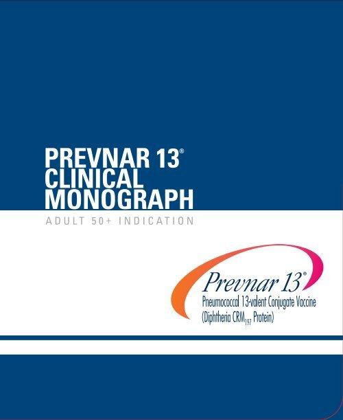 MONOGRAPH PREVNAR 13® - PfizerPro