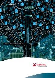 Document De référence 2006 - Veolia Finance - Veolia ...