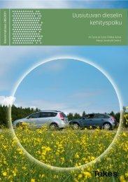 Uusiutuvan dieselin kehityspolku - Tekes