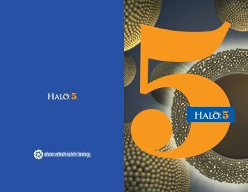 HALO-5 Brochure - Canadian Life Science