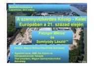 Letöltés (PDF) - Magyar Szennyvíztechnikai Szövetség