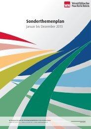 Sonderthemenplan 2013.indd - Westfälische Nachrichten