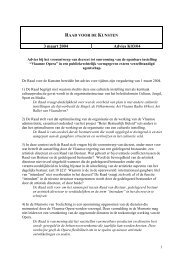 Advies K03.04 (PDF) - Cultuur, Jeugd, Sport en Media