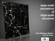 large-scale simulations of large-scale structures