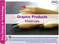 Graphic Products Materials - Kingsdown School